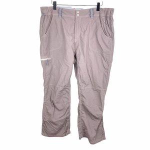 Simms Guide Series Women's Nylon Outdoors Fishing Pants Light Brown Size XL